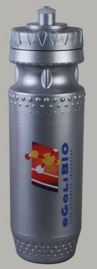 Sports Bottle - Sportec 3 600ml Ref 823- Metallic Silver