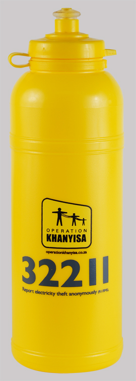 Sports Bottle - Sportec 6 750ml Ref 828 - Yellow