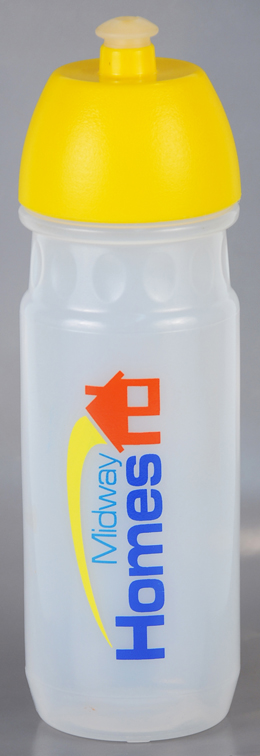 Sports Bottle - Sportec 8 700ml Ref 830 - Opaque with Yellow Cap