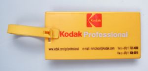 Ref. 147 - 110 x 55mm Luggage Tag - Flat with indent for sticker 3