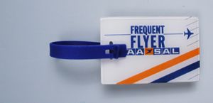 Ref. 146 - 80 x 52mm Luggage Tag - Acryllic 2 piece