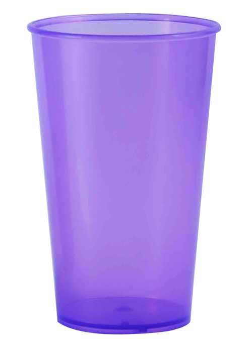 Drinkware - Tumbler 250ml Ref 415 - Clear Purple