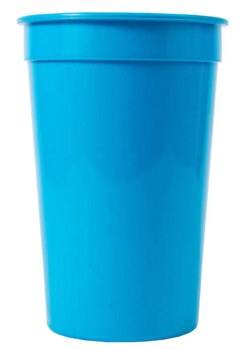Tumbler - Party Tumbler Ref 442 - Solid Cyan