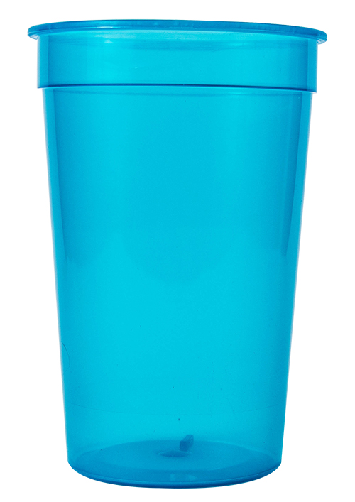 Tumbler - Party Tumbler Ref 449 - Semi-Transparent Cyan