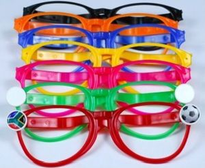 Ref. 1027 - Soccer Supporter Fun Glasses - Various Colours