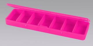 Ref. 1023 - Pill Box - 7 Compartments - Pink