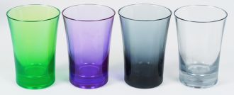 Ref. 797 - Double 50ml Shot Glass - Colours