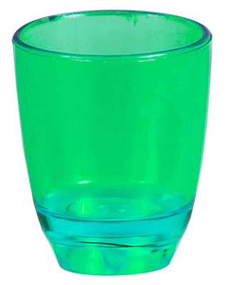 Shot Glass - 25ml Shot Glass Ref 413 - Green