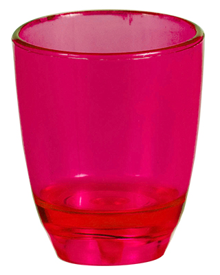 Shot Glass - 25ml Shot Glass Ref 413 - Red