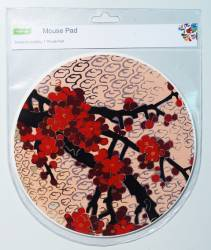 Mouse Pad Ref 173 - Red Blossoms