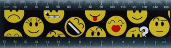 Ruler - Ruler 15cm Ref 278 - Emoticon