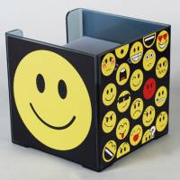 Paper Holder - Square Paper Cube Side 2 Ref 277 - Emoticons