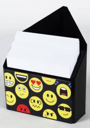 Pen Holder - Triangle Paper and Pen Holder Ref 275 - Emoticons