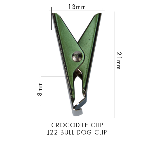 LANYARD ATTACHMENT - CROCODILE CLIP