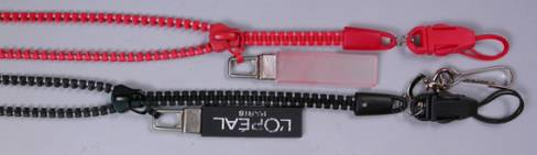 LANYARDS - ZIP LANYARD REF 1165 - CELLPHONE ATTACHMENT