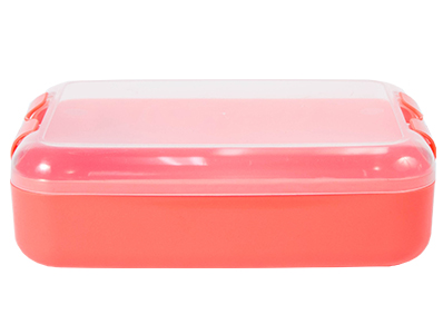Lunch Box - Lumo Large Lunch Box Ref 1061 - Coral