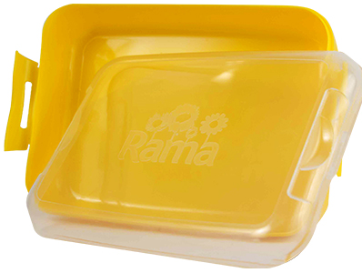 Lunch Box - Lumo Large Lunch Box Ref 1061 -Yellow, Rama