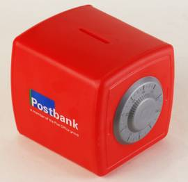 Money Box - Safe Money Box Ref 208 -Red