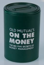 Money Box - Round Money Box Ref 727 - Dark Green