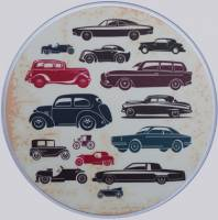 Mouse Pad Ref 694 - Vintage Cars