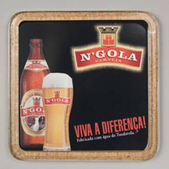 Coaster - Square Cork Coaster Ref 412 - Beer