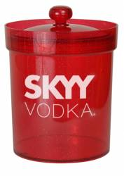 Bucket - Ice Bucket Ref 418 -  Red Branded