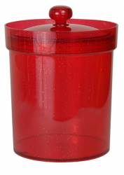 Bucket - Ice Bucket Ref 418 - Clear Red