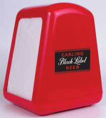 Serviette Dispenser - Serviette Dispenser Ref 1008 - Black Label