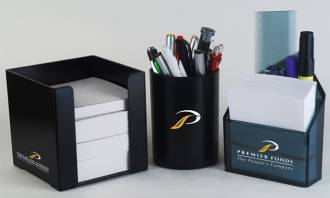 Stationery - Paper Cube Ref 500 - Pencil Cup Ref 512 - Paper Pen Holder Ref 504