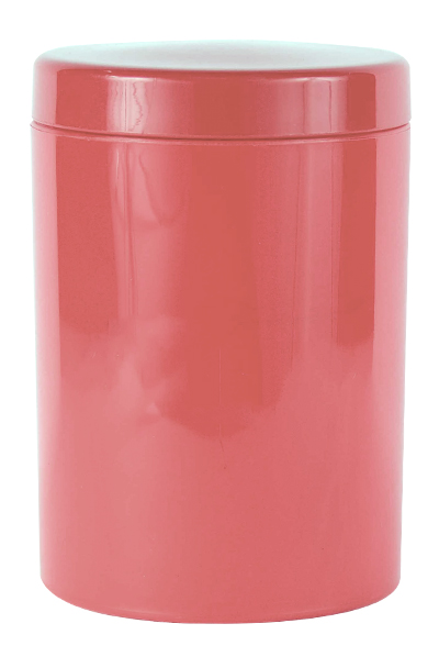 Canister - Storage Canister Ref 1090 - Coral