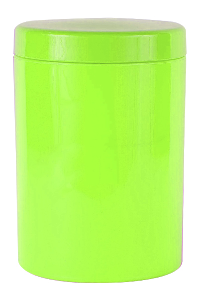 Canister - Storage Canister Ref 1090 - Neon Green