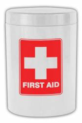 Canister - Storage Canister Ref 1090 - White, First Aid