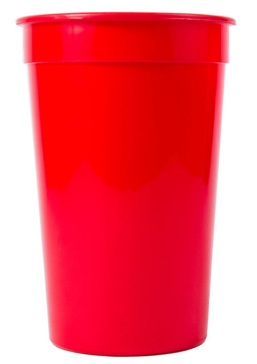 Tumbler - Party Tumbler Ref 442 - Solid Red
