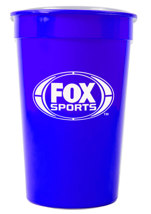 Tumbler - Party Tumbler Ref 442 - Solid Royal Blue, Fox Sports