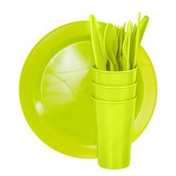 Picnic Sets - Picnic Set Super Save 6  Ref. 1400 - Avo Green