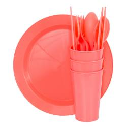 Picnic Sets - Picnic Set Super Save 6  Ref. 1400 - Coral