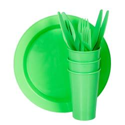 Picnic Sets - Picnic Set Super Save 6  Ref. 1400 - Neon Green