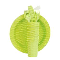 Picnic Sets - Picnic Set Super Save 7 Natted Ref. 1401 - Avo Green